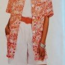 McCalls 7043 Pattern, Misses' Shirt, Tank Top & Culottes , Sz 10 12 14 16, UNCUT