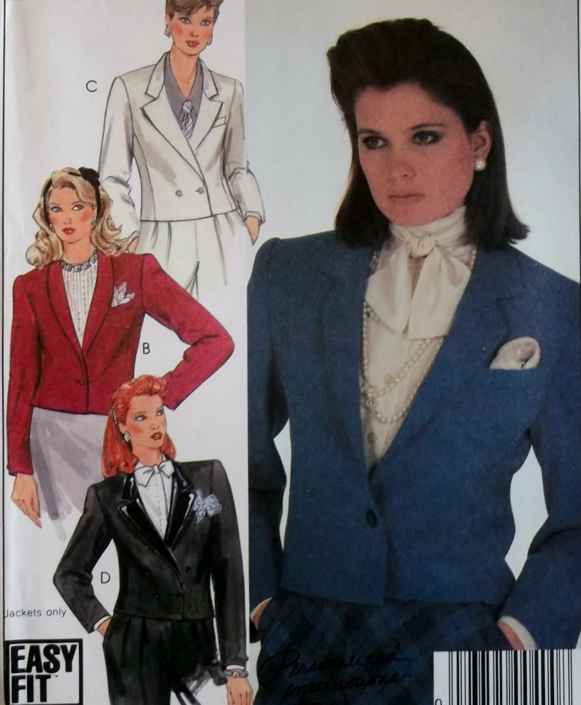 McCalls 9179 Pattern, Misses Jacket, Size 14, UNCUT