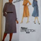 Misses  Pullover Dress Simplicity 9174 Pattern, Sz 8 10 12, Uncut