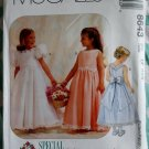 McCalls Special Moments 8643 Pattern, Childs Dress and Petticoat, Sizes 4, 5, 6, UNCUT