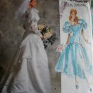 Vogue 2196 Bridal Original Misses Gown Sewing Pattern, Size 6 8 10, UNCUT