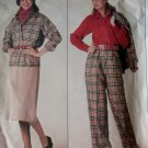 Vogue 0995 Misses' Jacket, Skirt, Pants & Blouse Pattern, Size 8 10 12,UNCUT