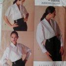 Vogue 2091 Perry Ellis Design Misses Blouse Pattern, Size 8 10 12,UNCUT