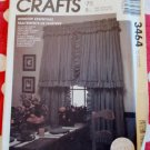 Windows Essentials Curtains & Drapes, McCalls 3464 Pattern,