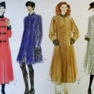Misses Coat Vogue 1665 Sewing Pattern, Size 8 10 12, Uncut