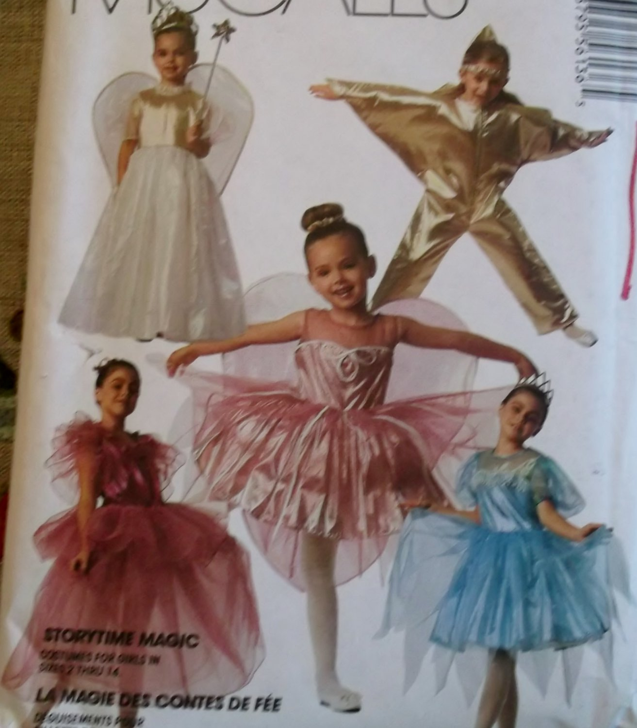 Mccalls 5613 Childs Storybook Costumes, Sizes 12, 14, UNCUT