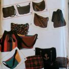 Simplicity 8019 Totes, Purses, shoulder bags, Wrist Wallet, 7 Different Styles Pattern, Uncut