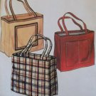 McCalls Sample Tote Bag Pattern, Uncut