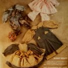 McCall's Sewing Pattern 5282 Bunny Wraps, Outfits for Bunny Dolls 14, 20 & 25 Pattern, Uncut