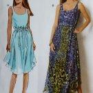 Misses Dress & Belt Butterick B 6021 Pattern, Plus Size 16 to 24, UNCUT