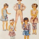 McCalls 5270 Pattern, Childrens Jacket, Dress or Top, Skirt, & Accessories,  Sizes 2, 3, 4, UNCUT