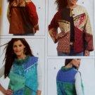 McCalls M 5127 Misses Color Block Lined Jacket & Vest Pattern, Multi sized 8 to 22, Uncut