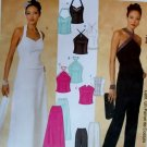 McCalls 3958  Evening Elegance Misses' lined Tops, Pants & Skirt Pattern, Size 4 6 8 10 UNCUT