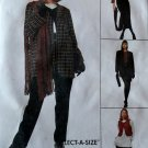Easy McCalls 7291 Pattern Jacket Vest Tunic Skirt Pants, Size 16 18 20, UNCUT