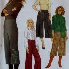 McCalls M 5251 Pattern, Misses' Gaucho Pants & Pants, Sz 10 12 14 16, UNCUT