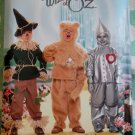 McCalls M 4133 Child's Wizard of Oz Costumes Scarecrow, Lion & Tin Man Pattern, Size 3 to 8, Uncut