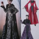 Misses Evil Queen Costume McCalls M6818 Pattern, Size 4 to 12, Uncut
