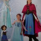 McCalls M 7000 or MP381 Misses' Winter Princess Costumes, Sz S to XL, Uncut