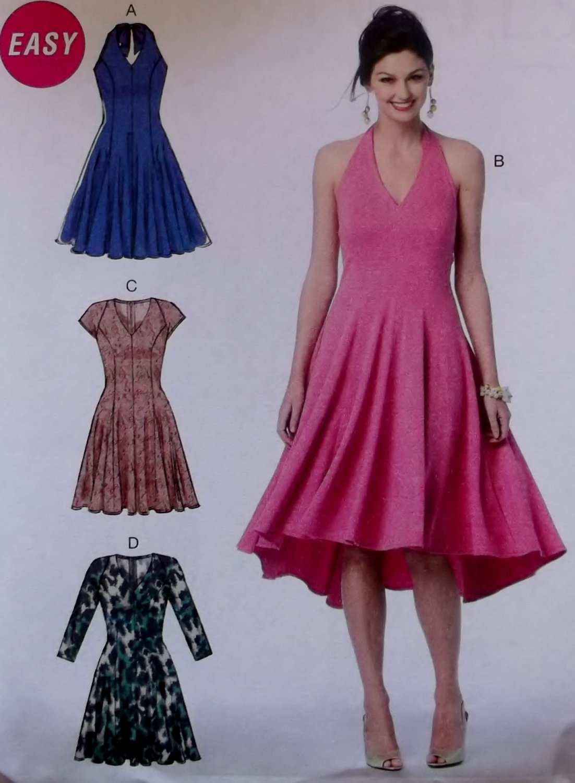 McCalls M6922 Sewing Pattern, Misses' Dress, Size 14 to 22, UNCUT