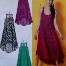 Easy McCalls M6954 Misses Dresses Pattern, Size Lg XL XXL, Uncut