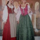 Misses'or Petite Historical Costume Butterick 6196 Pattern, Size 12 14 16, Uncut