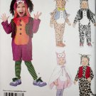 Simplicity 1766 Pattern, Toddler Animals Costumes , Size ½ 1 2 3 4,  UNCUT