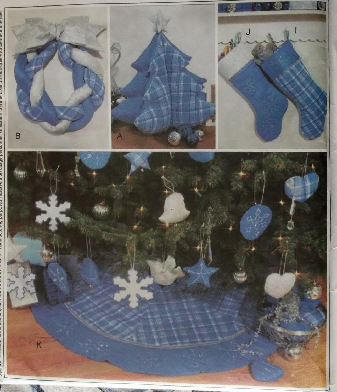 MCalls 3777 Christmas Decorations Pattern, Uncut
