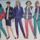 Misses' Jacket, Vest, Pants & Skirt Butterick Classic 3081 Sewing Pattern  , Plus Size L XL, UNCUT