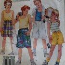 Easy Unisex Shorts & Top pattern McCalls 3096 Sizes 10, 12, 14, UNCUT
