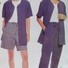 Easy Misses' unlined jacket, pants & shorts McCall's 2562 Patttern, Plus Size 14 16 18 20, UNCUT