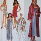 OOP Simplicity 8666 Pattern Misses Slip Nightgown Camisole Robe Pajamas, Sz XS to MD, UNCUT