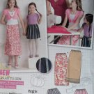 Girls Dress and Purse Simplicity 9497 Pattern, Size 3 4 5 6, Uncut