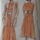 Very Easy Vogue 7752 Misses' Jacket, Top & Skirt Sewing Pattern, Size 8 10 12 Uncut