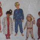 Butterick 3042, Boys', Girls' Robe, Belt, Pajamas, Hat & Booties Pattern, Size 7 8 10, Uncut FF