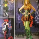 Misses' Super Villainess Costumes Simplicity 1091  Pattern, Size 14 to 22, UNCUT