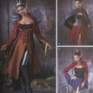 Misses' Dark Faeries Costumes Simplicity 1138  Pattern, Size 6 to 12, UNCUT