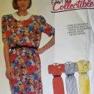 McCalls 2409 Pattern Misses' Dress And Belt, Sizes 6, UNCUT