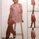 McCalls 8654 Misses' Maternity Tunic Jumpsuit Pants Pattern, Sz 8, 10, 12,  Uncut