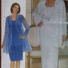 Womens Evening Jacket & Dress Butterick 5319 Pattern, Sz 16 18 20, Uncut
