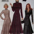 OOP Easy Dress Vogue 8814 Pattern,  Misses Dress, Plus Sz 14 16 18, Uncut
