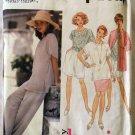 Easy Misses Basic Pants or Shorts, Skirt, Top, Cardigan Simplicity 8858 Pattern, Sz L, XL, Uncut