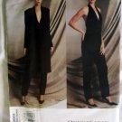 Vogue 2601 Designer Donna Karan Misses Jacket, Pants & Halter Bodysuit Pattern, Size 14 16 18, Uncut