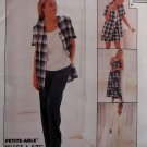 OOP Easy McCalls 8178 Pattern, Misses Dress, Top, Jacket, Pants, Shorts,  Sz 20, 22, 24, UNCUT