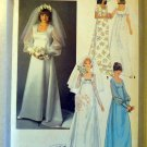 Vintage 70s Simplicity 8392 Pattern, Wedding or Bridesmaid Dress, Sz 16 Bust 38, Uncut