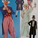Childs Patriotic Costumes, McCall's Pattern M 6143, Size 8-10, UNCUT