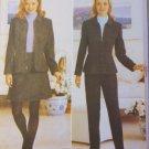 Misses Petite Lined Jacket, Skirt & Pants Butterick 4678 Pattern, Sizes 6, 8, 10, 12, UNCUT
