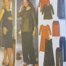 Misses Maternity Tent Dress or Tunic, Skirt, Pants & Shawl  Simplicity 9516 Pattern, Sz 6-12 Uncut