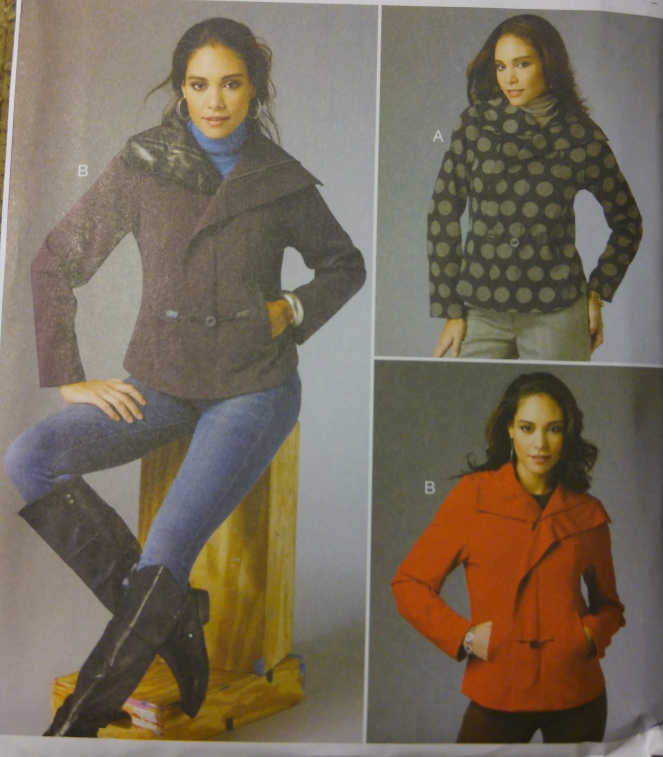 Misses Katherine Tilton Jacket Butterick B5994 Pattern, Sizes 16 - 24 UNCUT