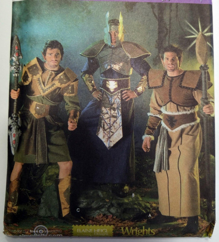 Elf Warrior Fantasy Simplicity 4085 Costume  Pattern, Size M to XL, Uncut
