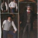 Simplicity 2895 Mens Frock Coat Shirt Vest Pattern Costume 38-44, Uncut